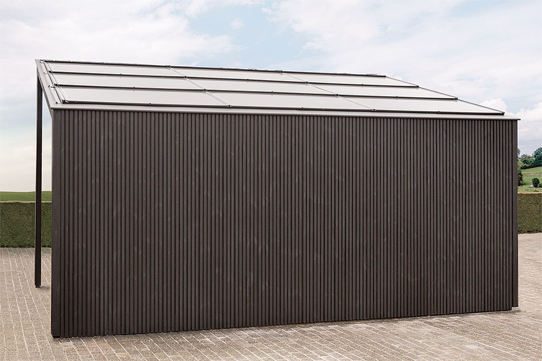 Garage Met Carport : Modernes holz carport livinlodge