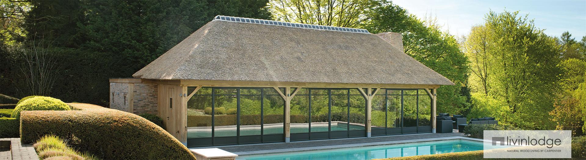 Iedere perfecte tuin verdient een prachtig houten bijgebouw
