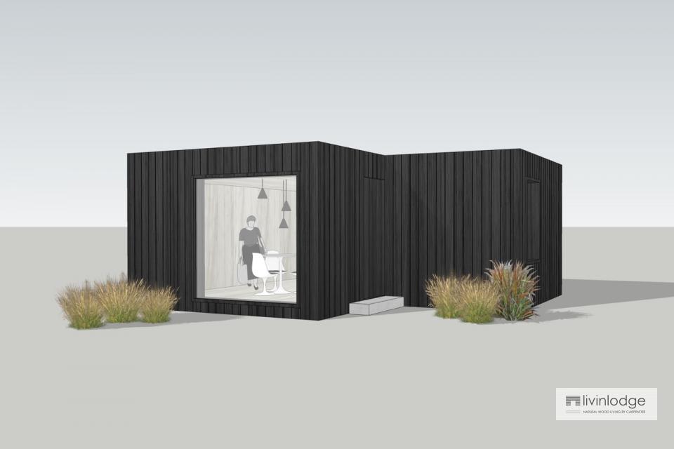 Maison kangourou en bois sur mesure