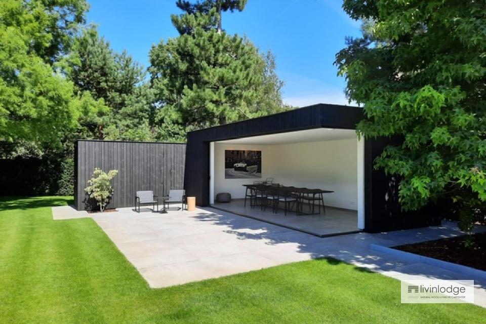 Modernes Gartenbüro in der Region Gent   Livinlodge