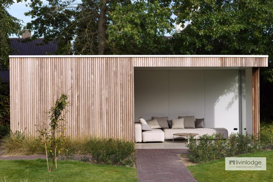 Modernes Gartenhaus mit Anbau in Roeselare