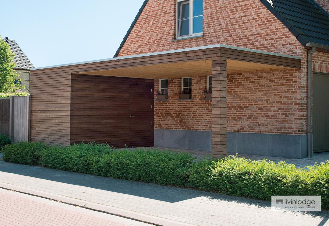 Moderne Holz Carports