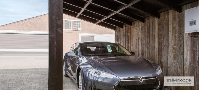 Modernes Solar Carport